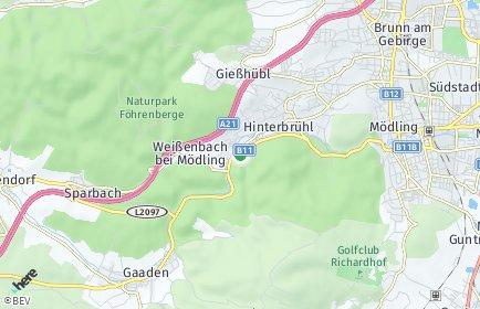 Stadtplan Hinterbrühl