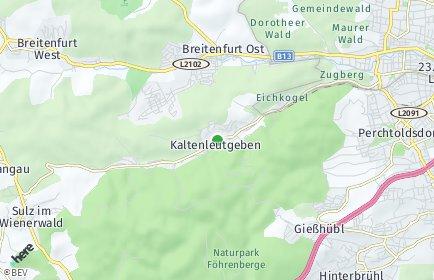 Stadtplan Kaltenleutgeben