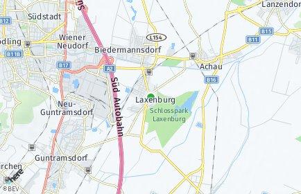 Stadtplan Laxenburg