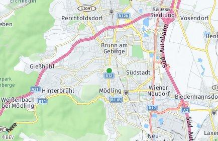 Stadtplan Maria Enzersdorf