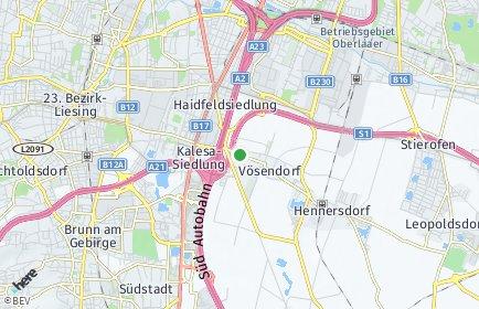Stadtplan Vösendorf