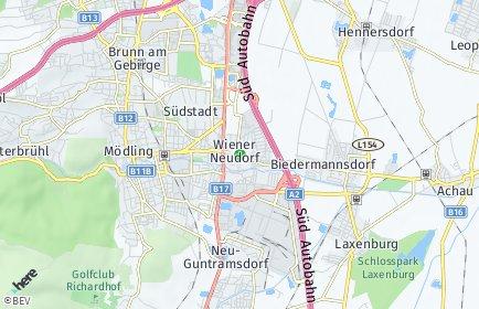 Stadtplan Wiener Neudorf