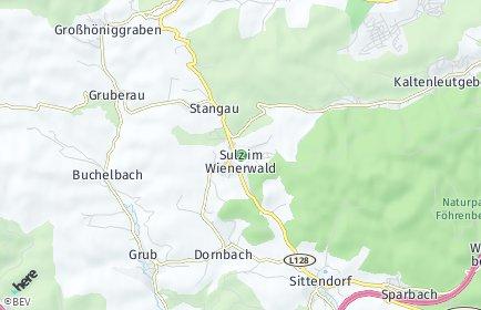 Stadtplan Wienerwald