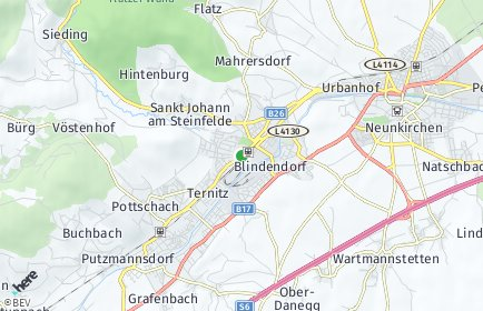 Stadtplan Ternitz