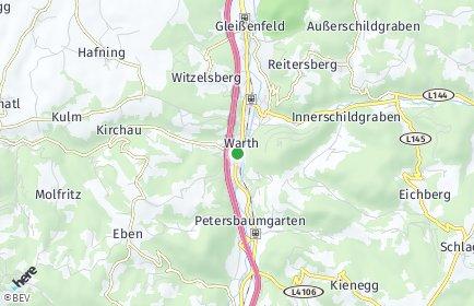 Stadtplan Warth (Niederösterreich)