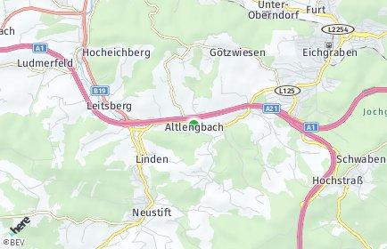PLZ Altlengbach Postleitzahl Niederösterreich Österreich