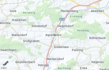 Stadtplan Asperhofen