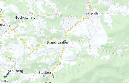 Stadtplan Brand-Laaben
