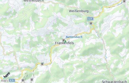 Stadtplan Frankenfels