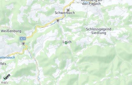 Stadtplan Loich