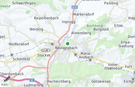 Stadtplan Neulengbach OT Stocket