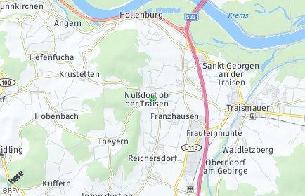 Stadtplan Nußdorf ob der Traisen