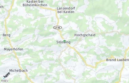 Stadtplan Stössing