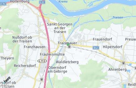 Stadtplan Traismauer