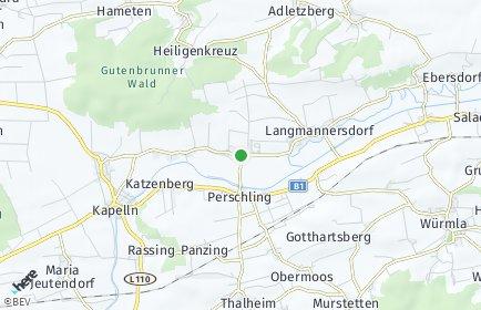Stadtplan Weißenkirchen an der Perschling