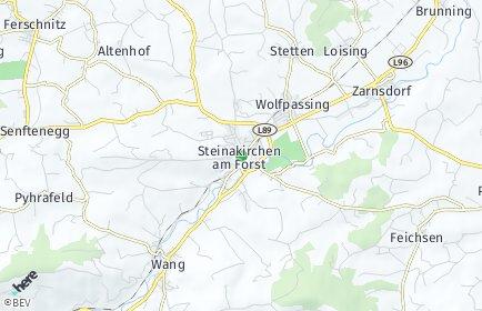 Stadtplan Steinakirchen am Forst