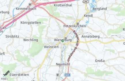 Stadtplan Wieselburg