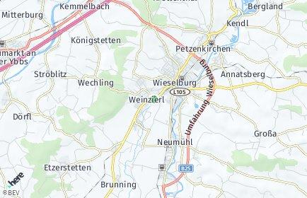 Stadtplan Wieselburg-Land