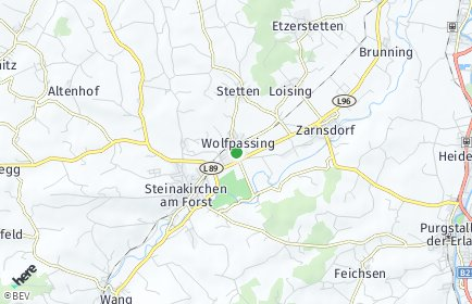 Stadtplan Wolfpassing