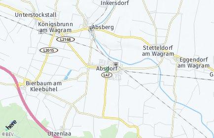 Stadtplan Absdorf