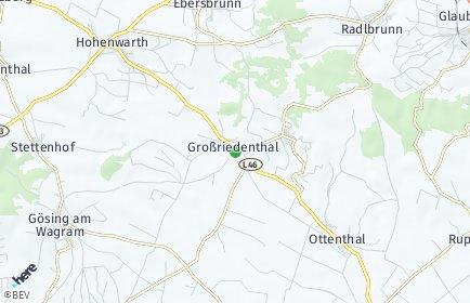 Stadtplan Großriedenthal