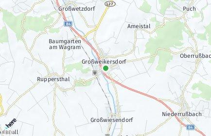 Stadtplan Großweikersdorf