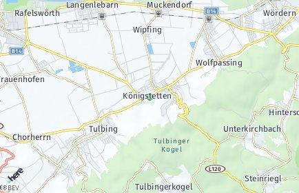Stadtplan Königstetten