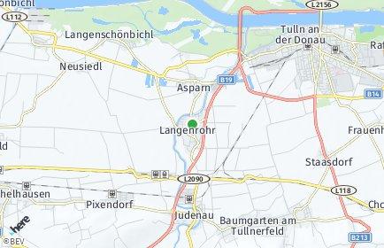 Stadtplan Langenrohr