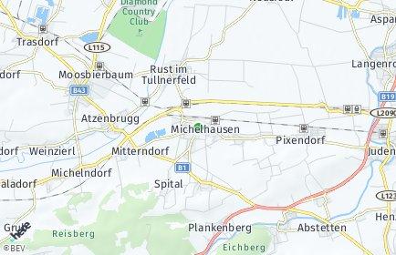Stadtplan Michelhausen