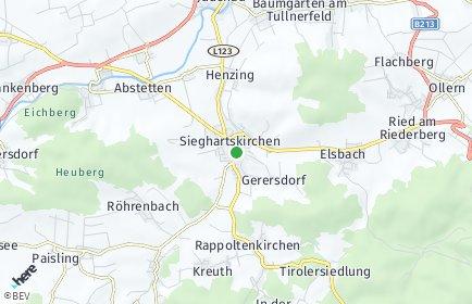 Stadtplan Sieghartskirchen