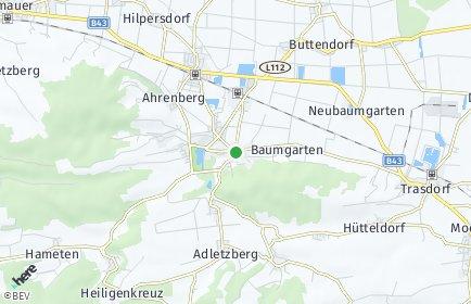 Stadtplan Sitzenberg-Reidling