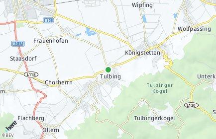 Stadtplan Tulbing