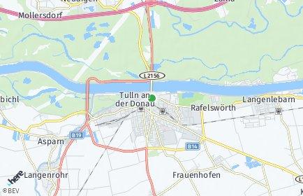 Stadtplan Tulln an der Donau OT Neuaigen