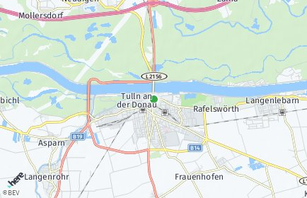 Stadtplan Tulln an der Donau
