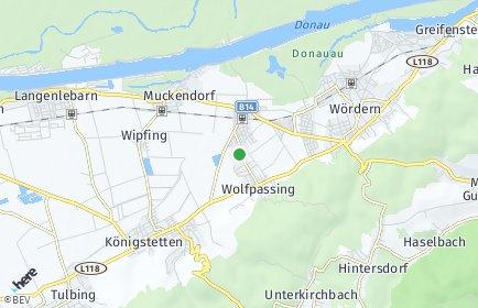 Stadtplan Zeiselmauer-Wolfpassing