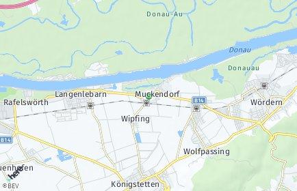 Stadtplan Muckendorf-Wipfing