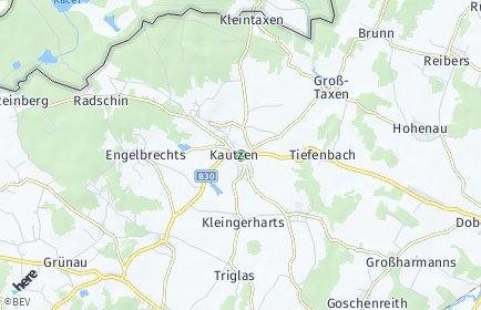 Stadtplan Kautzen