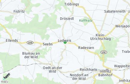 Stadtplan Ludweis-Aigen