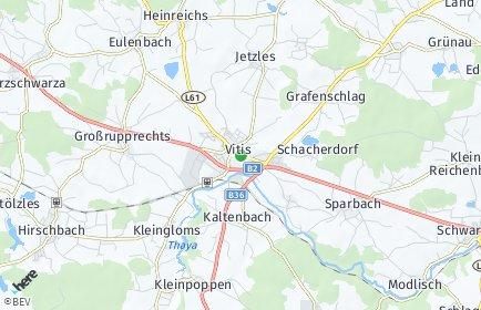 Stadtplan Vitis