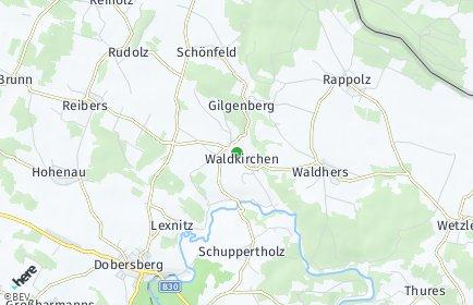 Stadtplan Waldkirchen an der Thaya