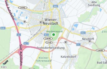 Stadtplan Wiener Neustadt Land