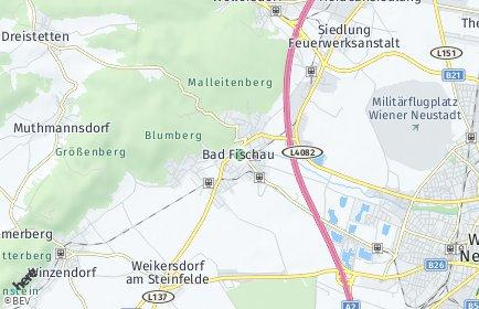 Stadtplan Bad Fischau-Brunn