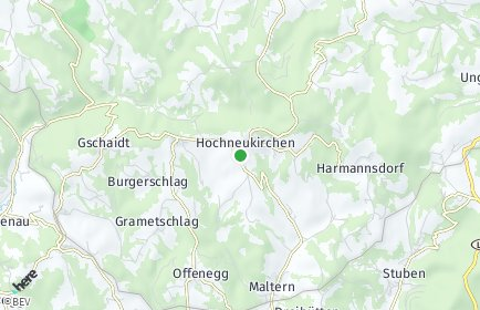 Stadtplan Hochneukirchen-Gschaidt