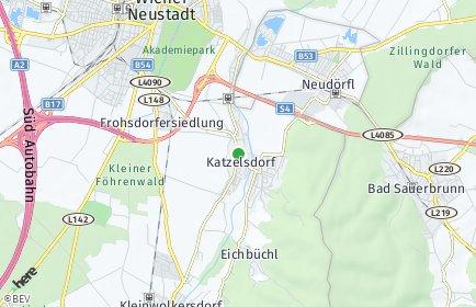 Stadtplan Katzelsdorf