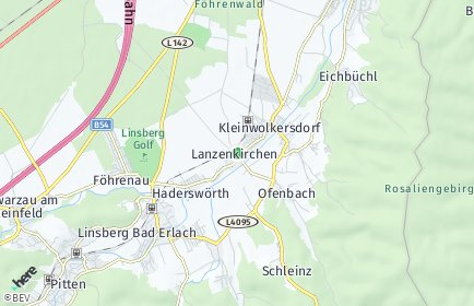 Stadtplan Lanzenkirchen