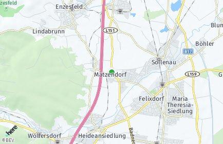 Stadtplan Matzendorf-Hölles