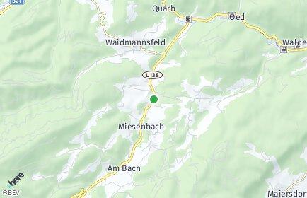 Stadtplan Miesenbach (Niederösterreich)