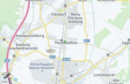 Stadtplan Theresienfeld