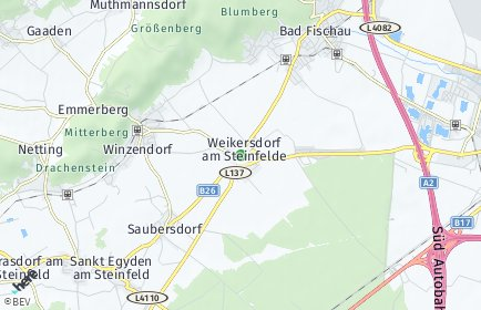 Stadtplan Weikersdorf am Steinfelde