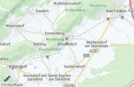 Stadtplan Winzendorf-Muthmannsdorf